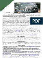 Jumaa Prayer 1 March13