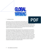 Global warming assignment