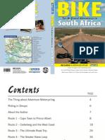 BIKE Tar & Gravel Adventures in South Africa ISBN 9781770262942