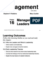 Chapter 16 - Leadership
