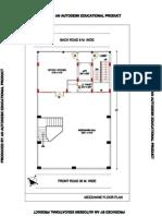 Mezzanine Floor Plan-model 01