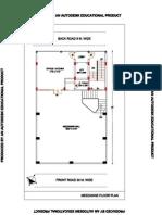 Mezzanine Floor Plan-model 02