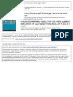 A Modified material model for the Finite Element Simulation of Machining Titanium alloy Ti-6Al-4V.pdf
