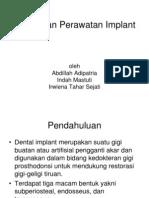 Kegagalan Perawatan Implant
