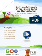 Telecom Sector and its impacts