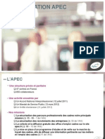 Présentation APEC en IDFrance Février 2013