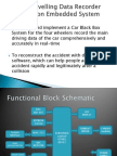 Car Traveling Data Recorder Using Embedded System Ppt Presentation Way2project In
