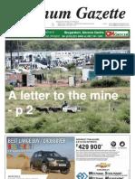 Platinum Gazette 01 March 2013