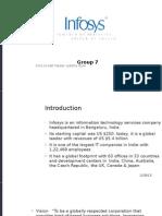 Becg Group No.7 - Infosys