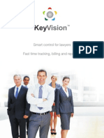 KeyVision - legal software for timesheets, billing, reports