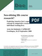 Sen Sitising Life Course Research