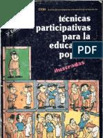 CIDE - Técnicas participativas para la educación popular ilustradas