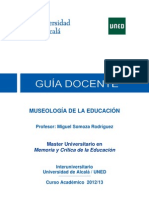 Museologia y Educacion