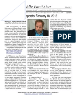 385 - Benjamin Fulford Report for February 18, 2013