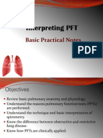 Interpreting PFT