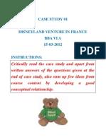 Euro Disney BBA VI a Case Study