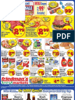 Friedman's Freshmarkets - Weekly Specials - March 7 - 13, 2013
