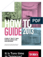 How to Guide 2013