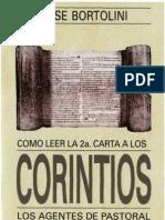 Bortolini_ Jose - Como Leer La Carta 2 a Los Corintios