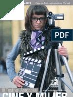 Catálogo FACYM  (Festival Aragonés Cine y Mujer) 2013