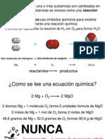 Clase de Estequiometría (QB)