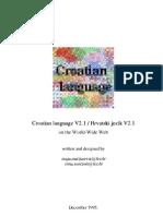 CROATIAN LANGUAGE, HIRVATÇA, Hrvatski jezik