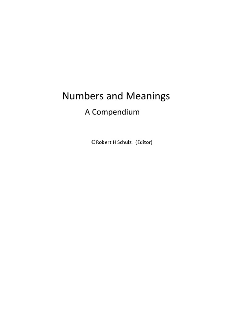 Numbers and their meanings carl jung numbers biocorpaavc Gallery