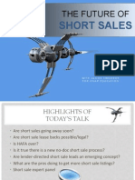 The Future of Short Sales_2013