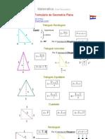 Formulario de Geometría Plana