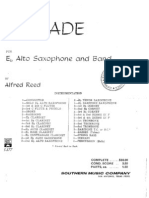 Ballade for Eb Alto Saxophone and Band - Alfred Reed (1).pdf