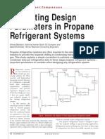 Propane Refrigeration