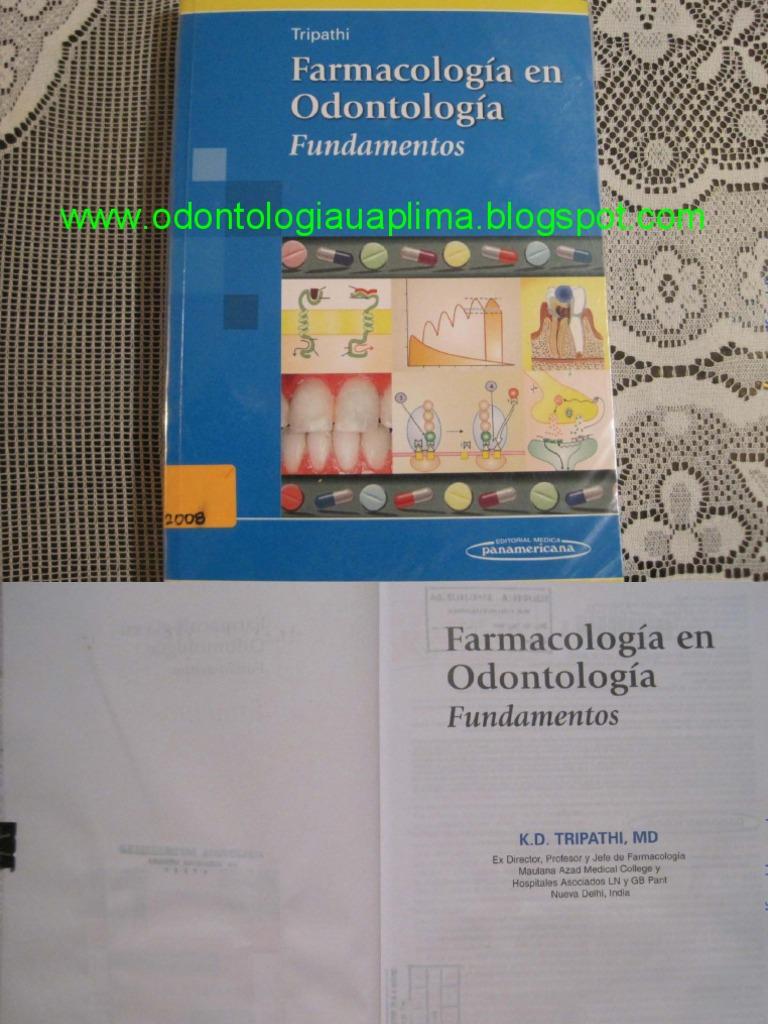 Farmacologia en odontologia tripathi fandeluxe Gallery
