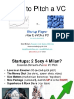 how to pitch a vc