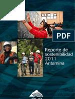 Antamina Reporte Sostenibilidad 2011