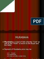 Islamic Finance MUrabaha