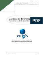 Interventoria Manual Ecogas (Cortesía Luis F Restrepo)