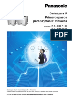 KX-TDE100_Primeros Pasos Para Tarjetas IP Virtuales