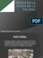 México en la Época de la colonia