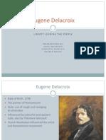 Eugene Delacroix Presentation