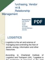 Logistics ,Purchasing, Vendor Management &
