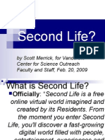 Why Second Life-Scott Merrick for VU CSO