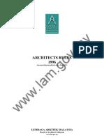 Akta Arkitek Malaysia 1996