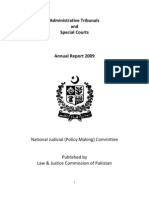 Special Courts Report 2009