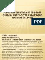 Diapositivas Regimen Disciplinario