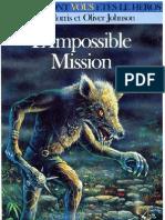 L'épée de légende 4 - Impossible Mission