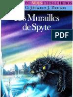 L'épée de légende 5 - Les Murailles de Spyte