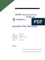 Acquisition Plan Test Script.docx