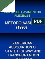 DISEÑO DE PAVIMENTOS FLEXIBLES AASHTO