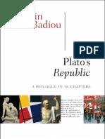 Plato's Republic, by Alain Badiou