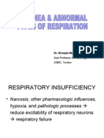 Respiratory Insufficiency & Other Clinical Conditions